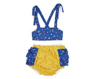 Floral POP, baby bikini