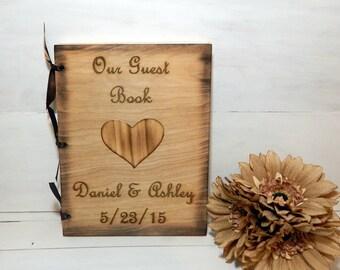 Wedding Guest Book, Guest Book, Rustic Wedding, Wedding, Personalized Guest Book, Custom Guest Book, Country Wedding, Rustic Wedding