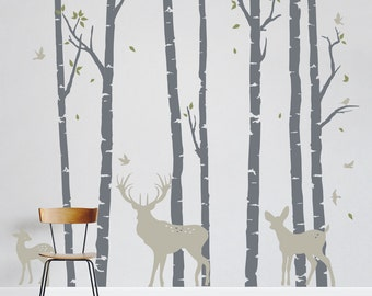 Custom Vinyl Wall Art Decals By WallumsWallDecals On Etsy - Custom vinyl wall decals deer