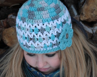 SALE PRICED!!!!Womens Crocheted Hat/Ready to Ship