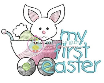 My First Easter Machine Embroidery Design
