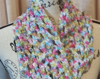Multicolored Soft Spring Scarf