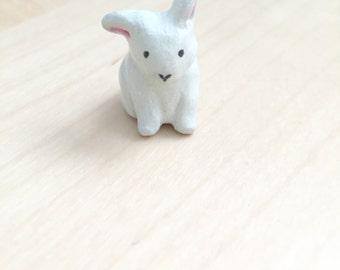 Rabbit Totem Animal - Hand Sculpted Bunny Charm - Spirit Animal