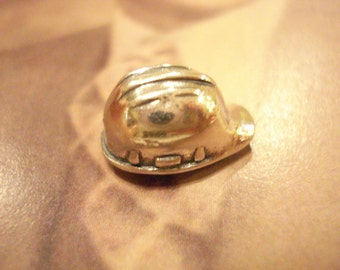 Hard Hat Sterling Silver Tie Tack