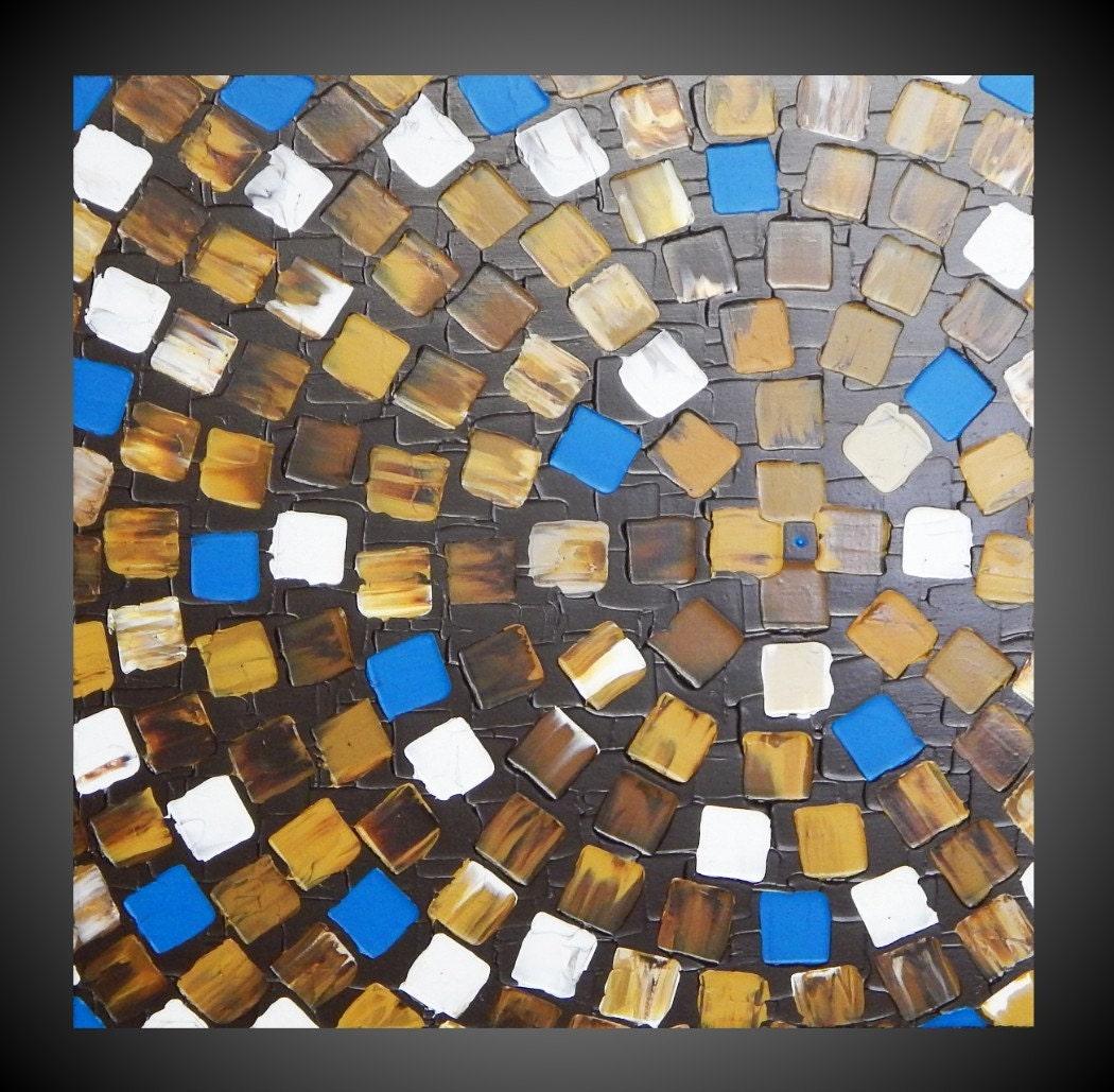 Origineel abstract acryl schilderij moderne door acrylkreativ