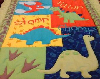 Dinosaurs ,Roar Quilt
