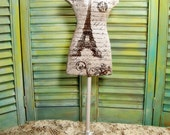 French Eiffel Tower  home decoration  Form Mannequin   (reserved)