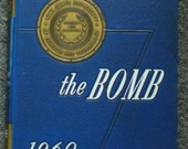Vintage Retro 1960s Iowa State University School Of Science And Technology The Bomb Volume 67 Collectible Year Book