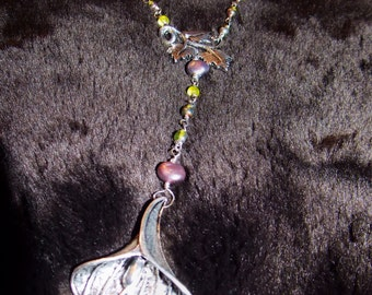 Rosary style necklace