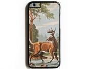 iPhone 6 Case. iPhone 6 Cases. Vintage PBN Deer. Phone Case. iPhone Case. Phone Cases. Case for iPhone 6. Paint by Number.