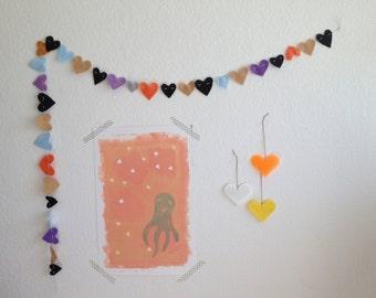 Heart Garland - Custom Order