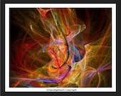 Electric Colours 2-LOW COST-Downloadable Fine Art  Print-Will look Beautiful On Any Wall At Home Or The Office