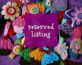 RESERVED listing for Kristina Kourgelis
