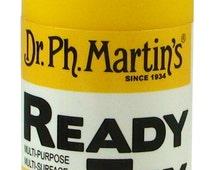 Dr. Ph. Martin's Ready Tex - 2oz Bottle - Airbrush Paint - Golden Yellow - #158-201240