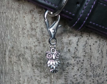 New Owl Dog Collar Charms