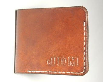 Handmade Leather wallet. Personalized