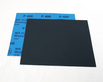 "400 Grit  Wet / Dry Sand Paper  9""x11"" Sheets Package  Of 10"