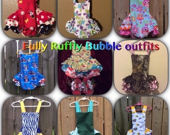 Fully Ruffly bubble outfit