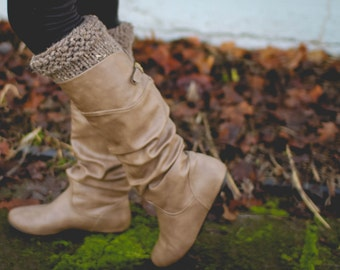 Boot Cuffs, Simple Texture Design, Leg Warmers, Knit, Pinterest Favorite, Fall Fashion, Slip on, Knit Accessory