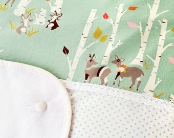 Cover for changing pad RABBIT DOTS