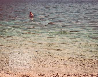 Beach Photo Wall Art. Calming Beach Photo. Ocean Photo. Calming Water. Turquoise. Blue. Sea.  Calm Waters. Fine Art Photography