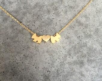Dog necklace, personalized, dog jewelry
