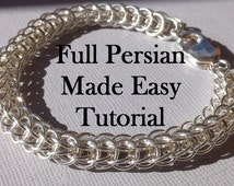 Chainmaille Tutorial PDF Full Persian Made Easy