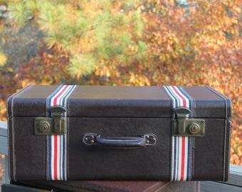 Vintage Brown Hard Case Luggage