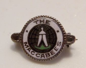 Fraternal Knights of The Maccabees Masonic Pin
