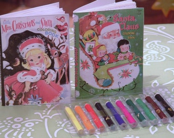 Coloring Books and Colored Pencil Set for American Girl Dolls