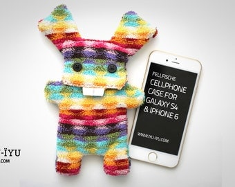 Fellfische Bunny Cellphone Case Mosaic LIMITED EDITION