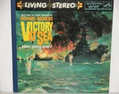 Victory at Sea Volume 2 - Richard Rodgers - RCA Records Shaded Dog LSC 2226 - 1954 Vintage Gatefold Vinyl Record Album