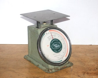 Vintage Accu Weigh Universal Dial Scale, Bar Inventory, Industrial, Home Office Decor,  Antique Alchemy