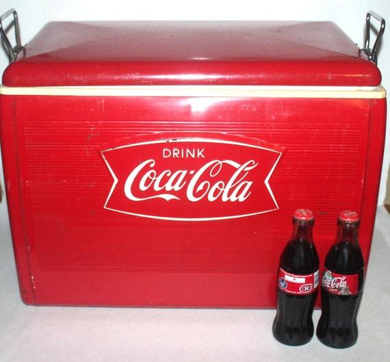 mill sime 1960 coca cola glaci re rare poisson queue d tail. Black Bedroom Furniture Sets. Home Design Ideas