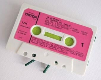 Zippered Cassette Tape Wallet - La Zarzuela - La Cancion del Olvido