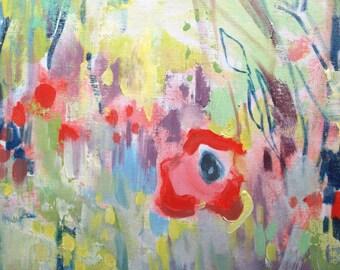 Poppy Honey 2--  Fine Art Print