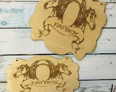 HUGE SALE Custom Horse Hanging Plaque and House Plaque/Stable Sign/Horse Stable/Personalized Horse Sign