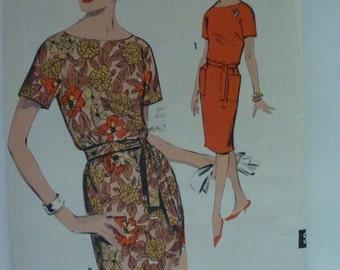 Vintage Sew Easy Advance Misses Dress Pattern 2994 Size 16