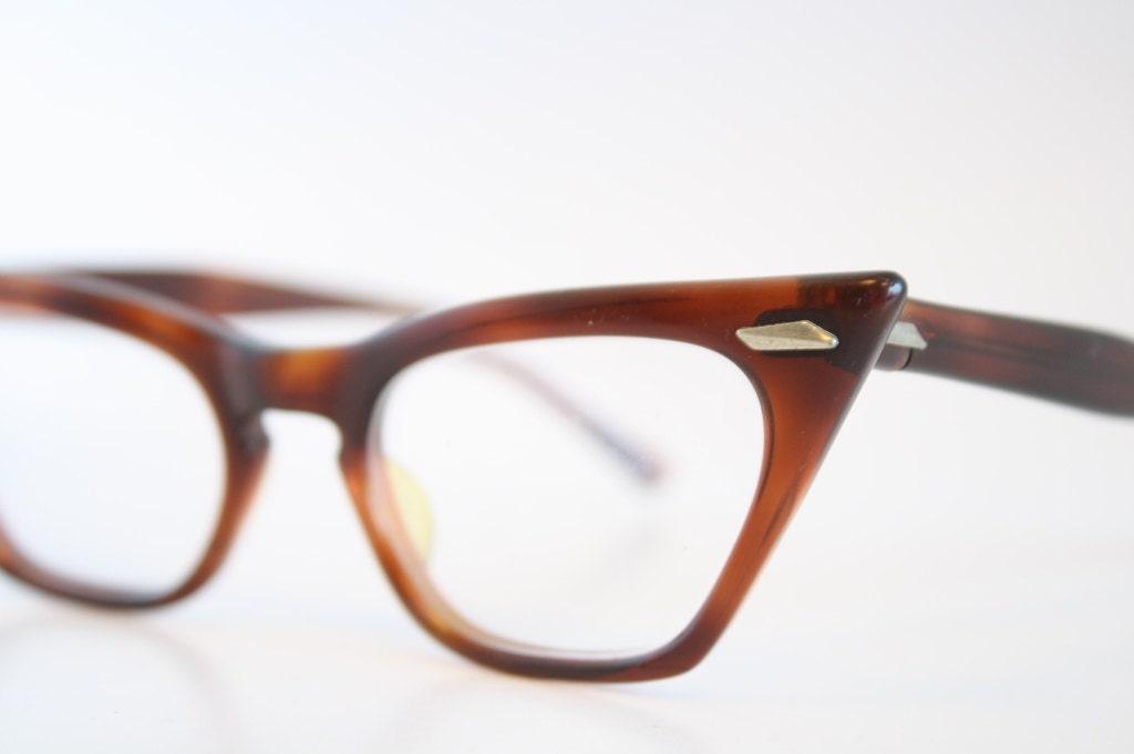 tortoise cat eye eyeglasses vintage eyewear retro glasses cat