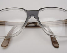 Vintage Eyeglass Frame Restoration : Popular items for oversized aviator on Etsy