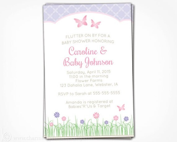 Butterfly baby shower invitation printable butterfly invite pink il570xn filmwisefo