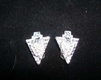 Crystal Studded Shoe Clips