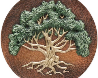 The Meeting Tree - Cast Paper  - Great Tree - spirit of nature - Oak