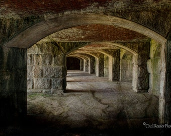 The Tunnels, Photography, Architectural, Landscape Photography, Maine Photography
