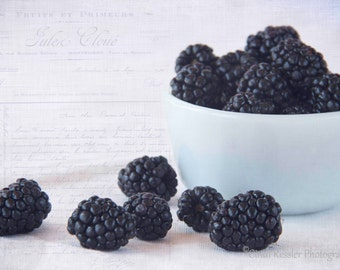 Blackberries, Photography, Food Photography, Kitchen Art
