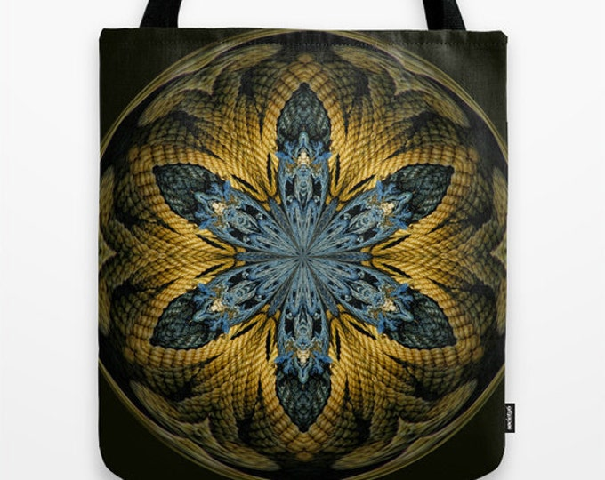 Nautical Star Photo Tote Bag, Digital Art, Market Bag, Photo Tote, Abstract Art, Tote Bag