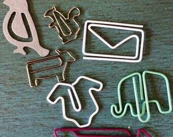 Paperclip Set, animal