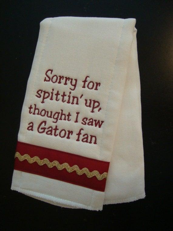 Seminoles Burp Cloth