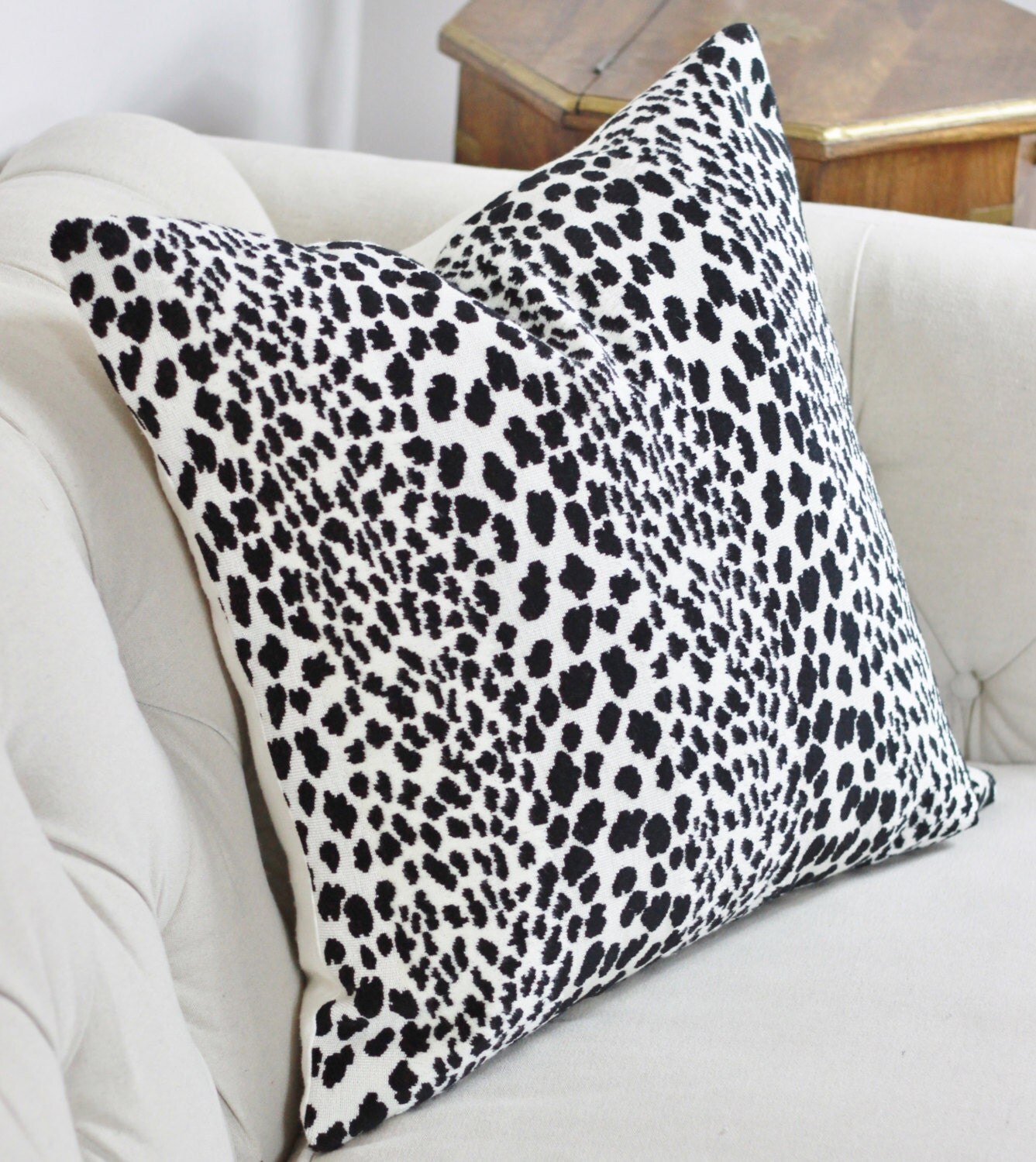 Velvet Animal Print Pillows : Animal Print Pillow Spotted Velvet Pillow Cover Animal