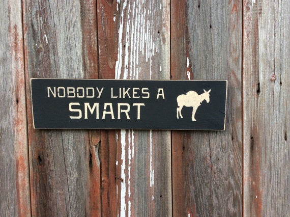 Nobody Likes A Smart Ass 86